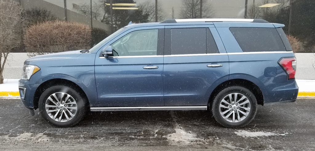 2018 Ford Expedition, profile
