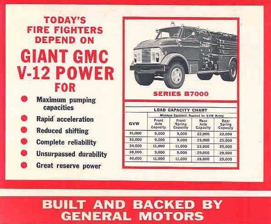 GMC V12 Firetruck, GMC Twin Six