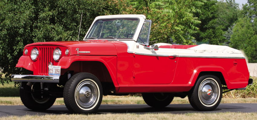1968 Kaiser Jeep Jeepster Convertible