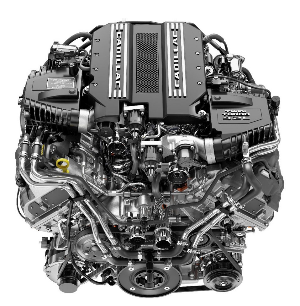 Cadillac 4.2-liter twin-turbo V8