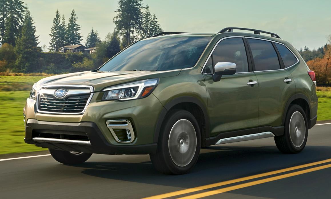Subaru Boxer Engine >> 2018 New York Auto Show: 2019 Subaru Forester | The Daily ...