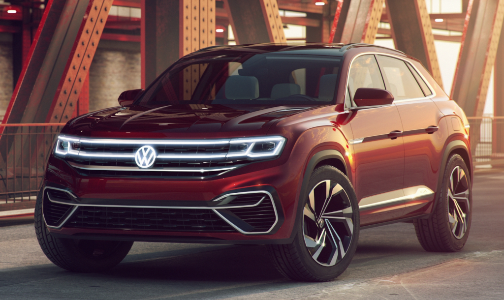 2018 New York Auto Show Volkswagen Atlas Cross Sport Concept The Daily Drive Consumer Guide The Daily Drive Consumer Guide