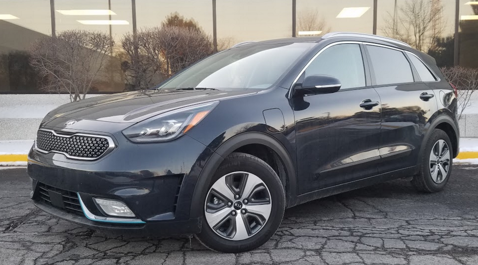 2018 Kia Niro PHEV EX Premium in Gravity Blue