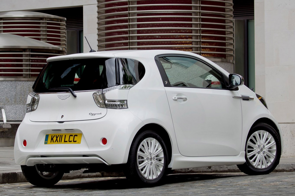 What was the Aston Martin Cygnet?
