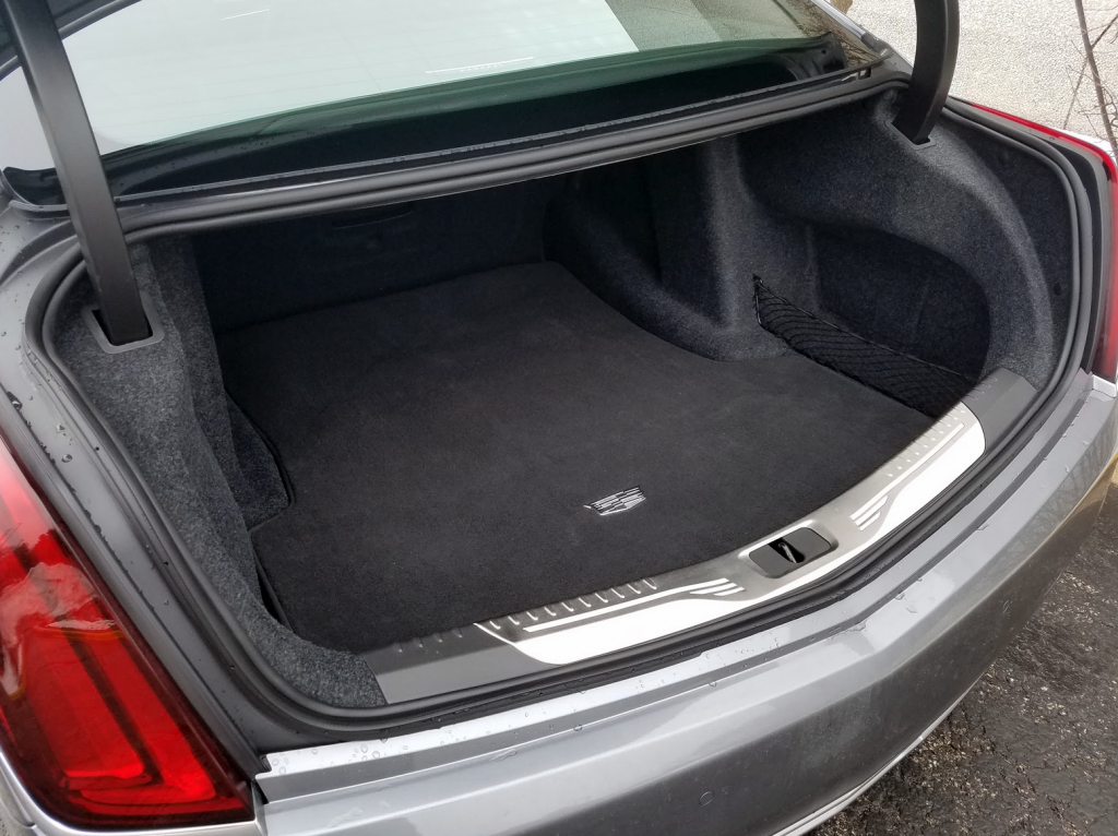 Cadillac CT6 Trunk
