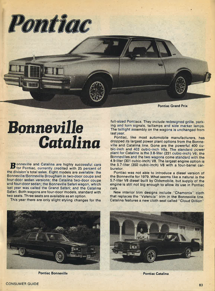 1979 Pontiac Reviews