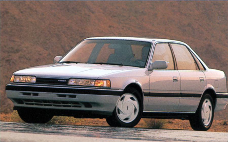 1988 Mazda 626 Turbo AWS