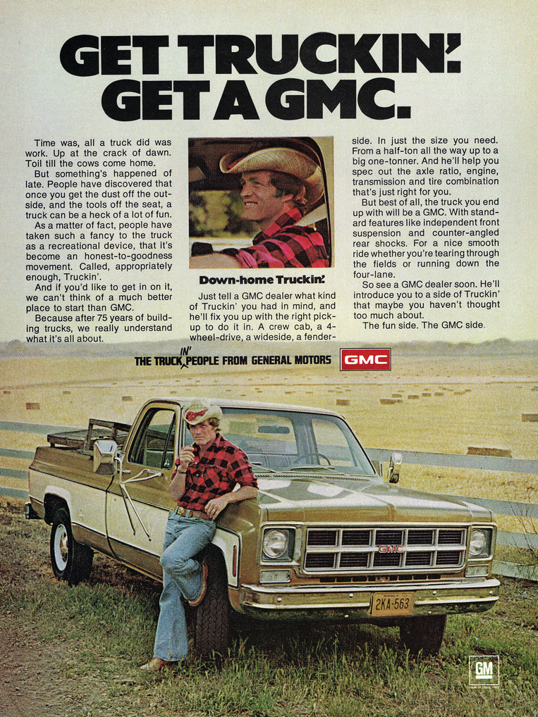 Grabowsky Madness! 10 Classic GMC Ads | The Daily Drive ...
