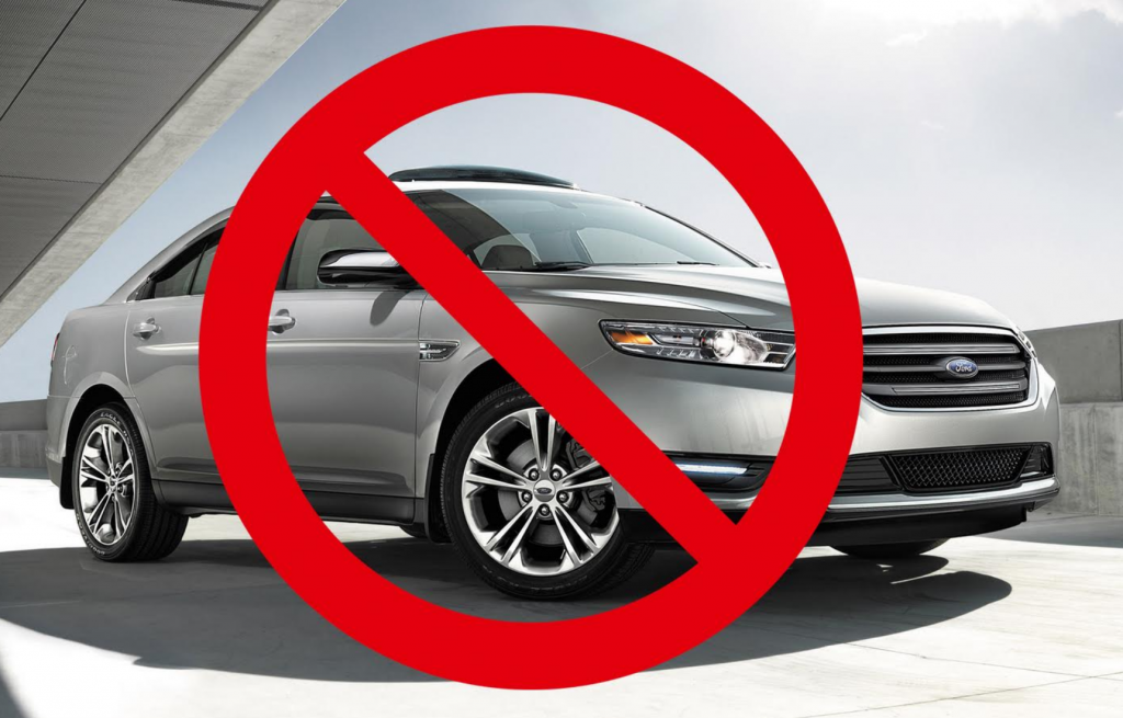 Ford is Killing the Taurus, Ford Killing Sedans