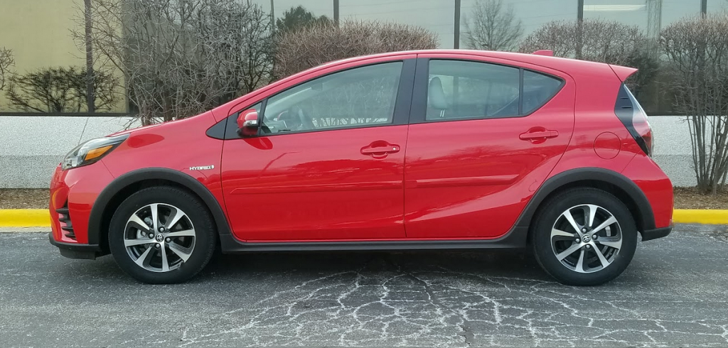 2018 Prius c Absolutely Red