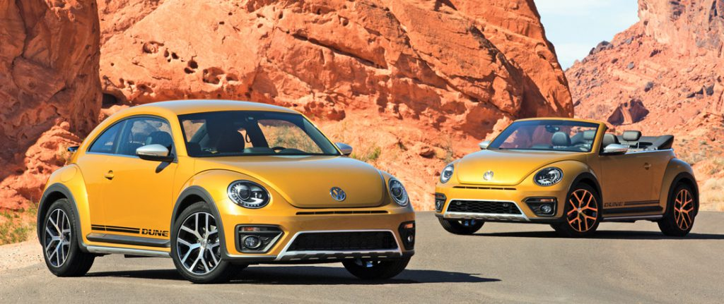 Future Collectibles: 2016-2018 Volkswagen Beetle Dune | The
