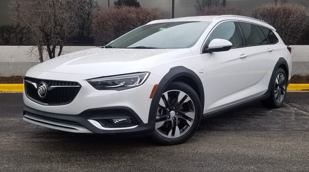 2018 Buick Regal TourX, White Frost