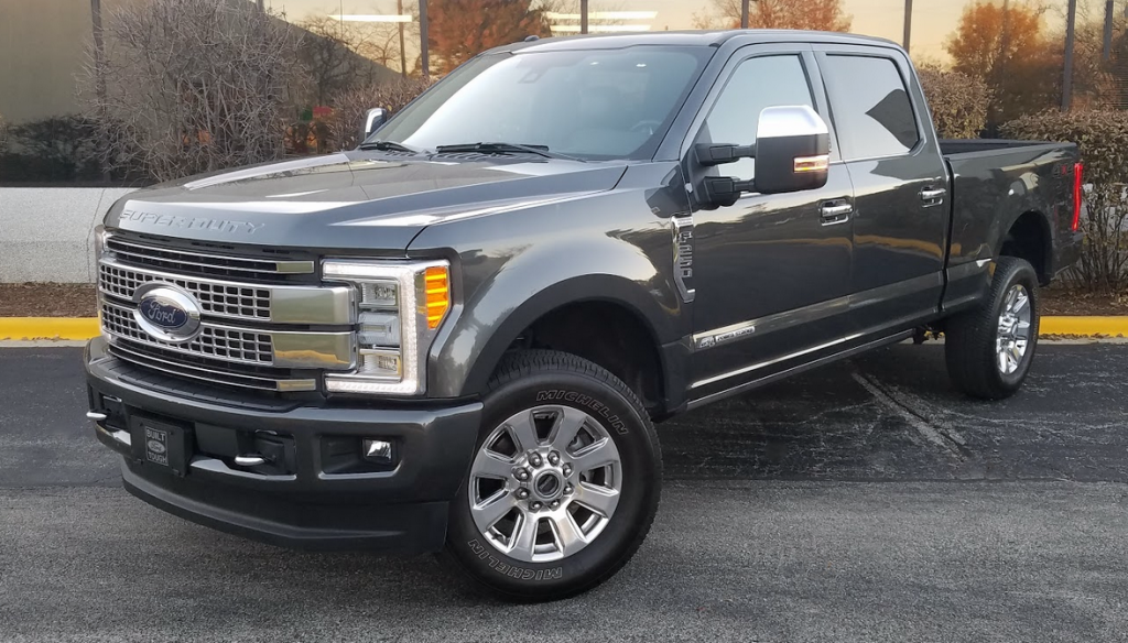 2017 Ford F250 Diesel Mpg >> Quick Spin 2017 Ford F 250 Super Duty Platinum Crew Cab