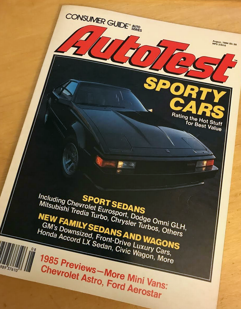 Consumer Guide Magazine, 1984 Turbo Coupe