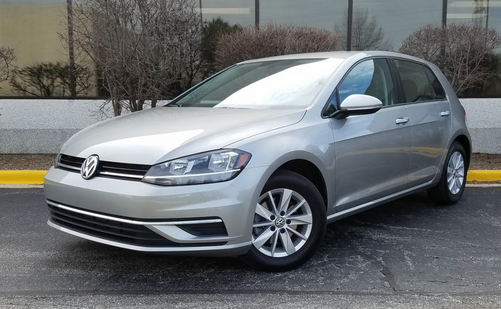 2018 Volkswagen Golf S in Tungsten Silver