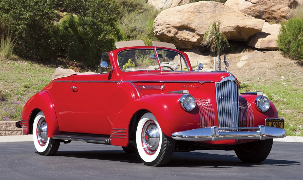 1941 Packard One Sixty Deluxe Convertible Coupe