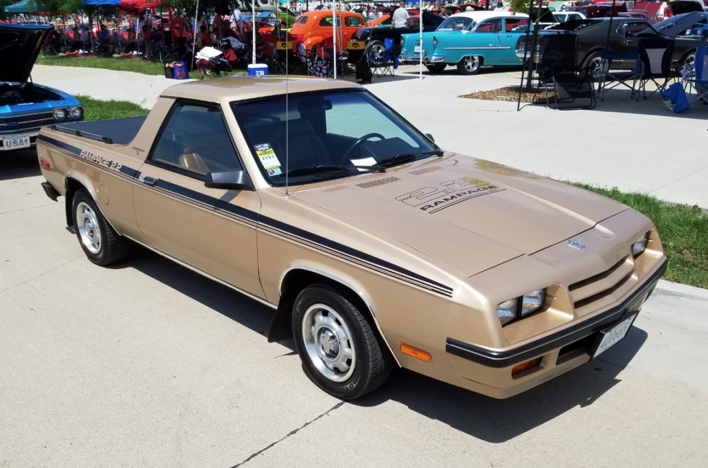 1984 Dodge Rampage 2.2