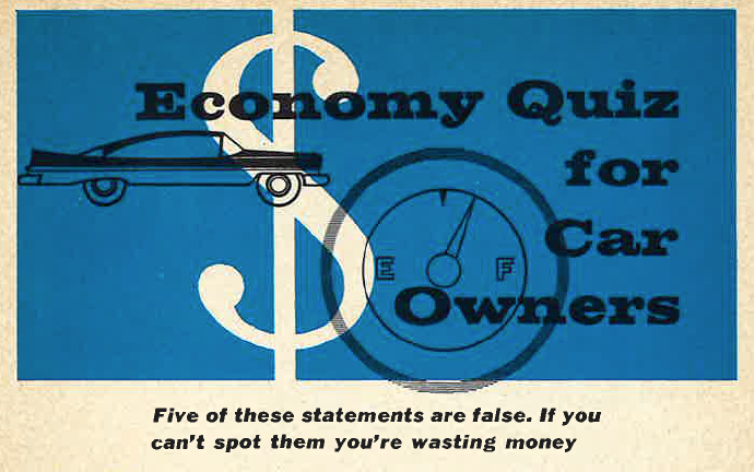Car-Care Quiz From 1959