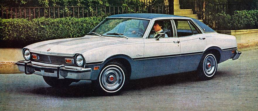 1976 Ford Maverick with Luxury Decor Group