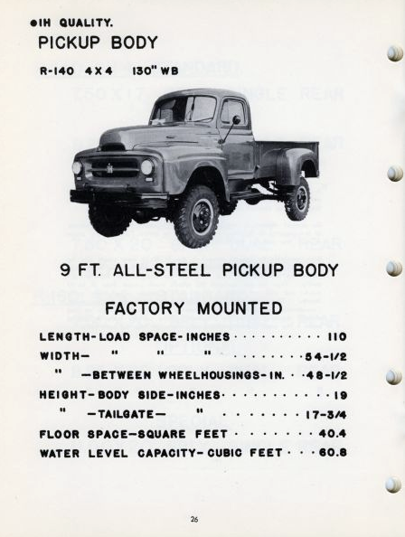 1954 International Model R-140 Pickup