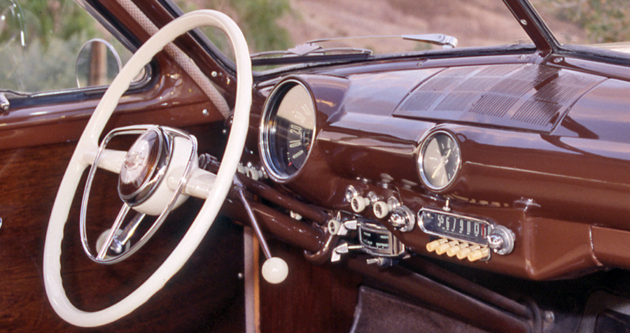1950 Ford Dashboard