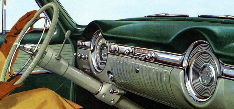 1953 Oldsmobile Dashboard
