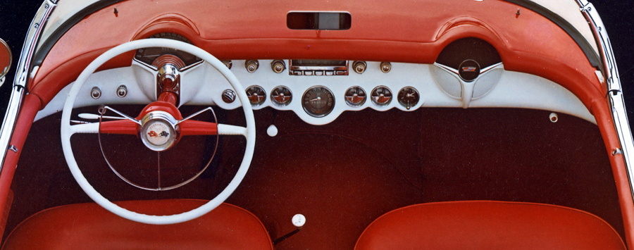 1953 Corvette Dashboard