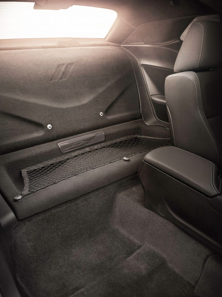 2019 Dodge Challenger R/T Scat Pack 1320 rear seat