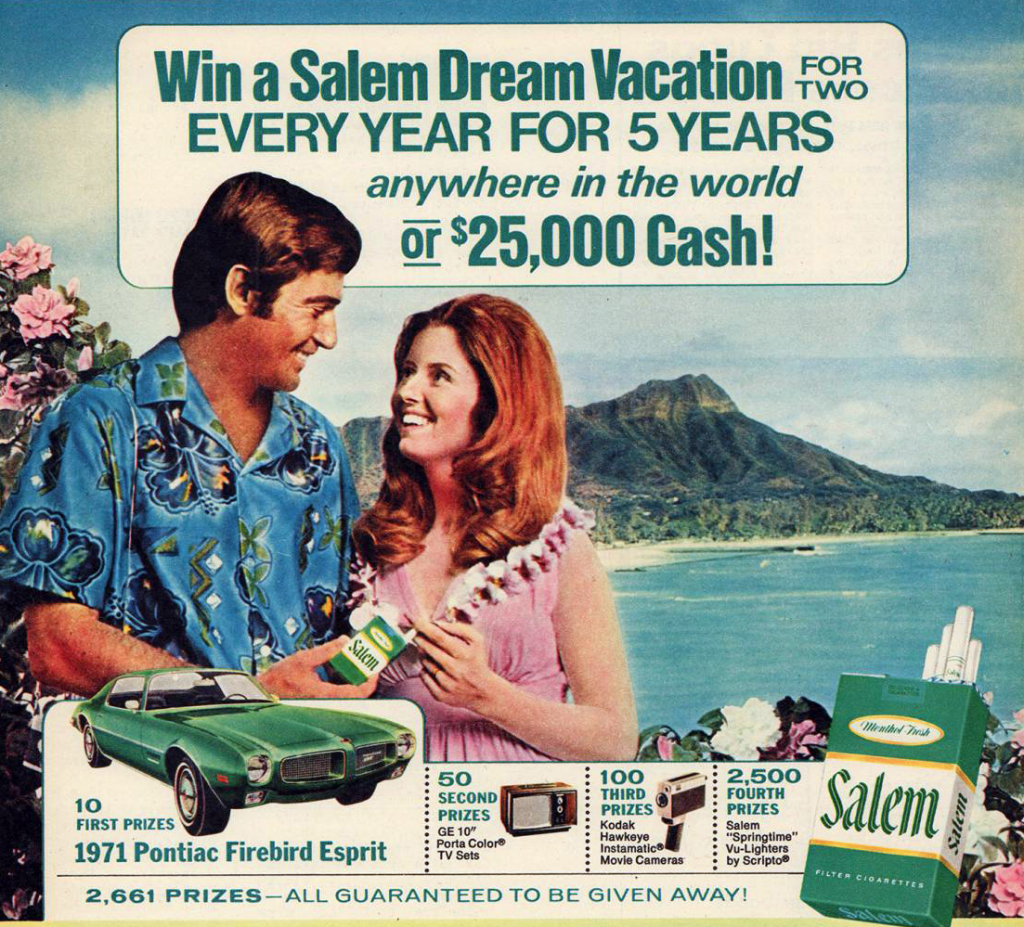 Salem Cigarettes Ad