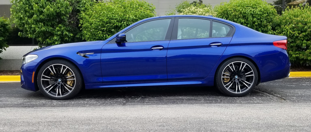 2018 BMW M5 Marina Bay Blue