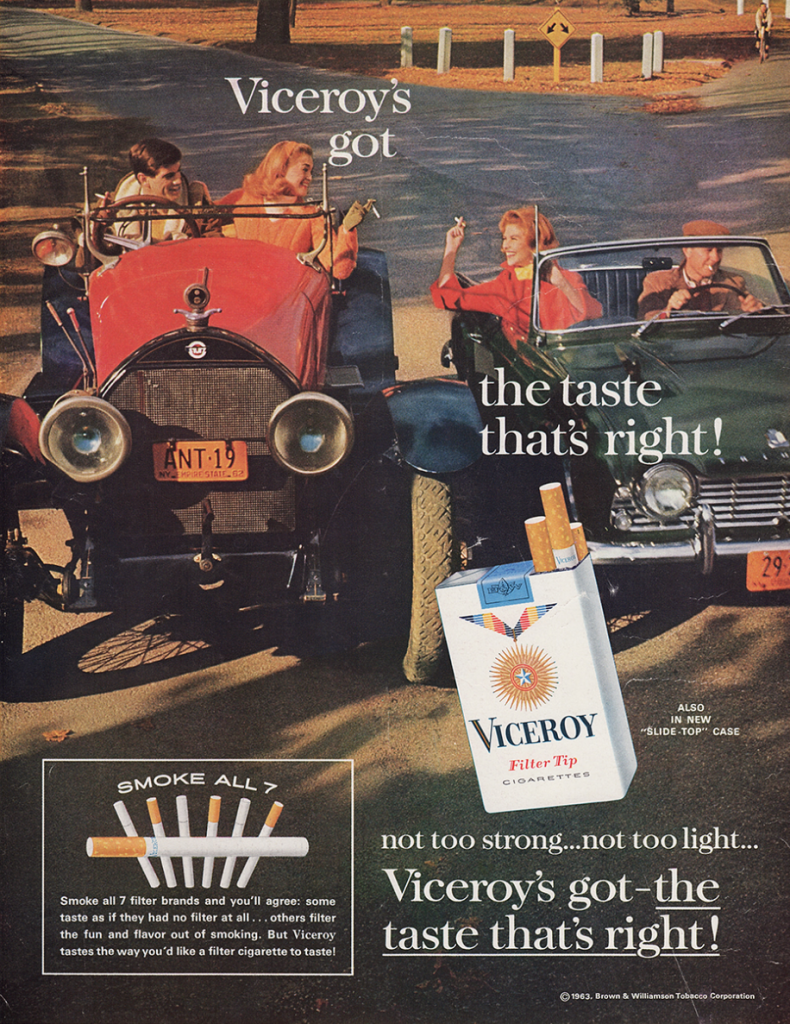 Viceroy Cigarettes Ad