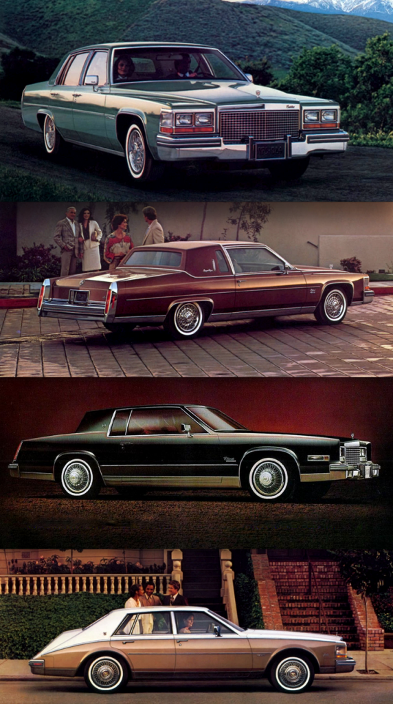 1981 Cadillac Lineup, What Was The Cadillac V8-6-4?