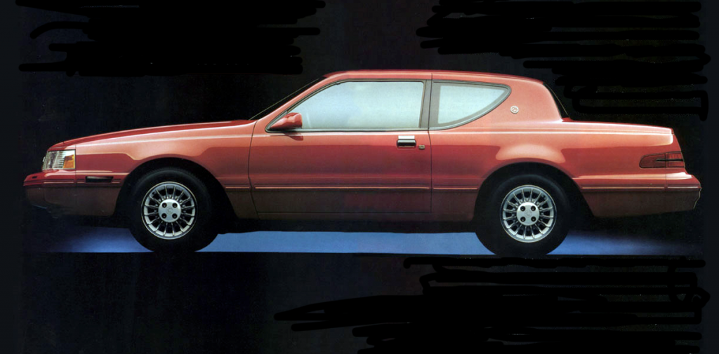 1988 Mercury Cougar, Mercury Cougar Ads