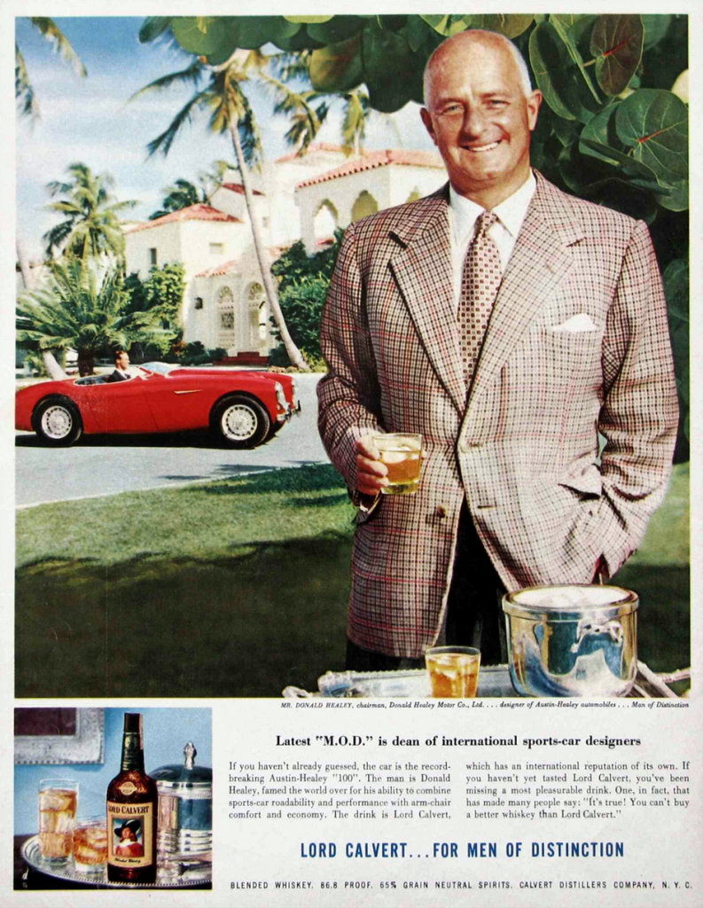Lord Calvert Canadian Whiskey Ad