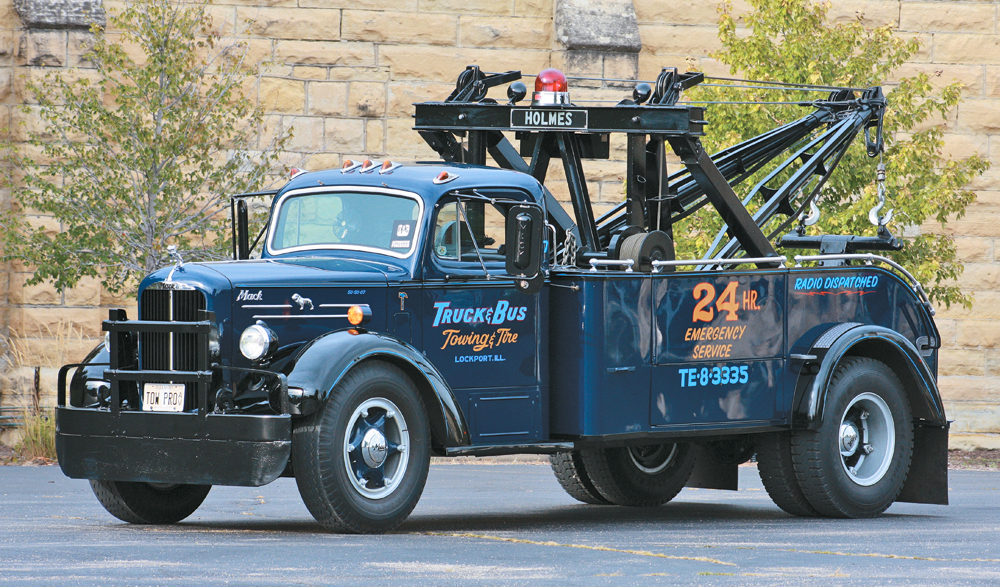 Photo Feature 1950 Mack A20 Tow Truck The Daily Drive