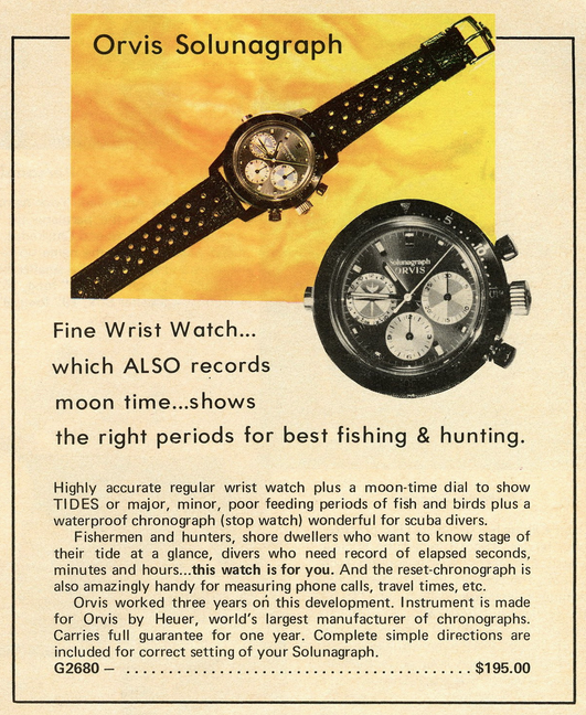 Vintage Orvis Watch Ad