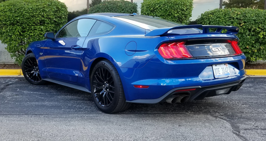 2018 Ford Mustang GT Premium in Lightning Blue
