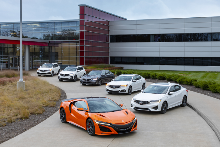 2019 Acura Lineup