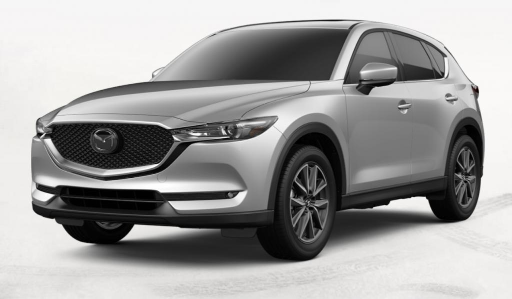2019 Mazda CX-5 in Sonic Silver