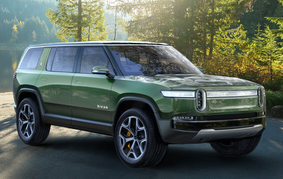 Rivian R1S concept, Rivian R1T Pickup