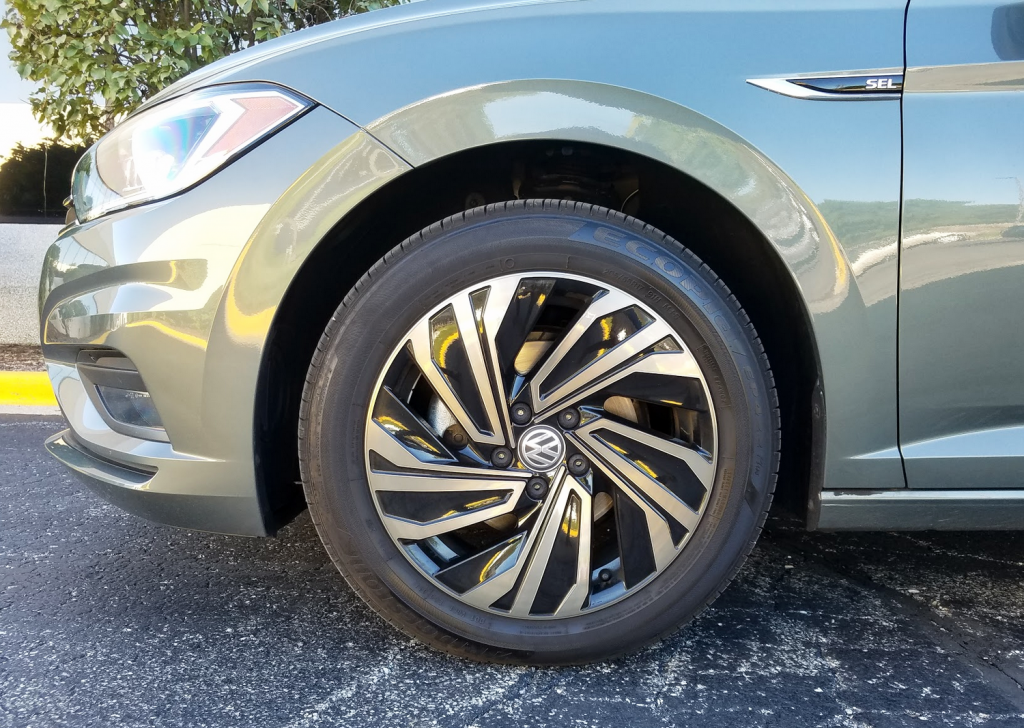 2019 Jetta SEL Wheels