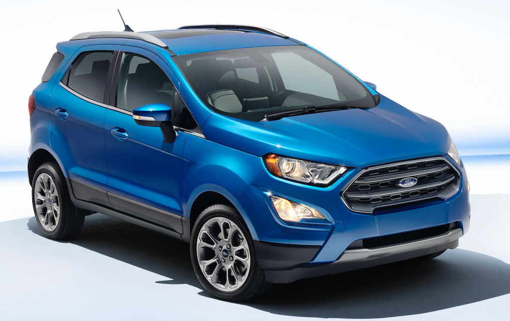 2018 Ford Lightning >> 2018 Ford EcoSport Titanium AWD The Daily Drive | Consumer ...