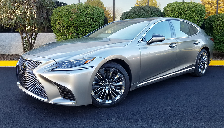 Quick Spin 2018 Lexus Ls 500 The Daily Drive Consumer Guide