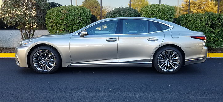 2018 Lexus LS 500 in Atomic Silver