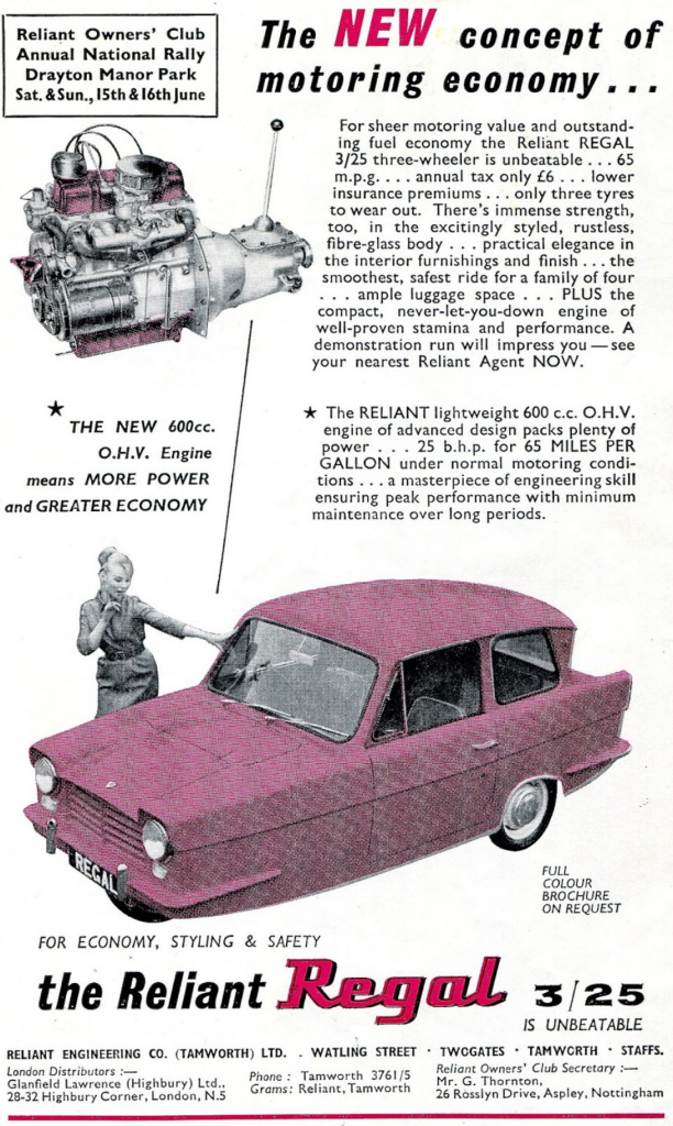 1962 Reliant Regal