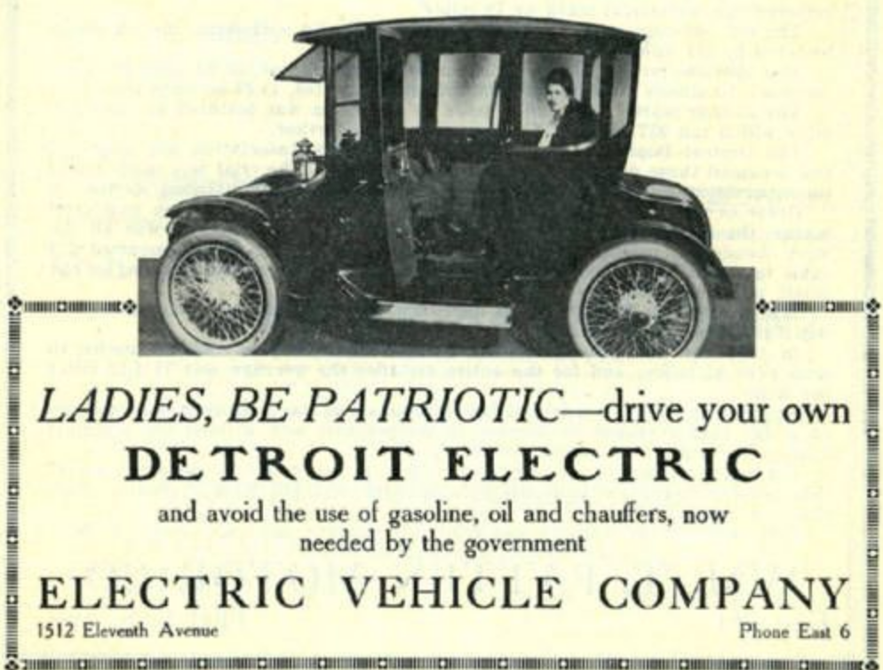 Detroit Electric Ad