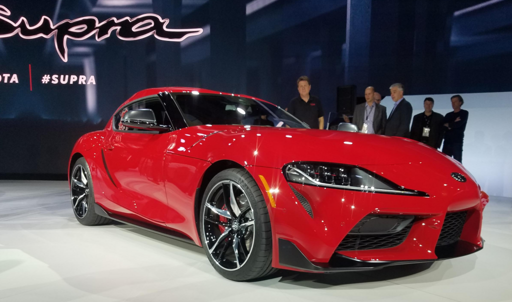 2019 Detroit Auto Show: 2020 Toyota Supra | The Daily ...