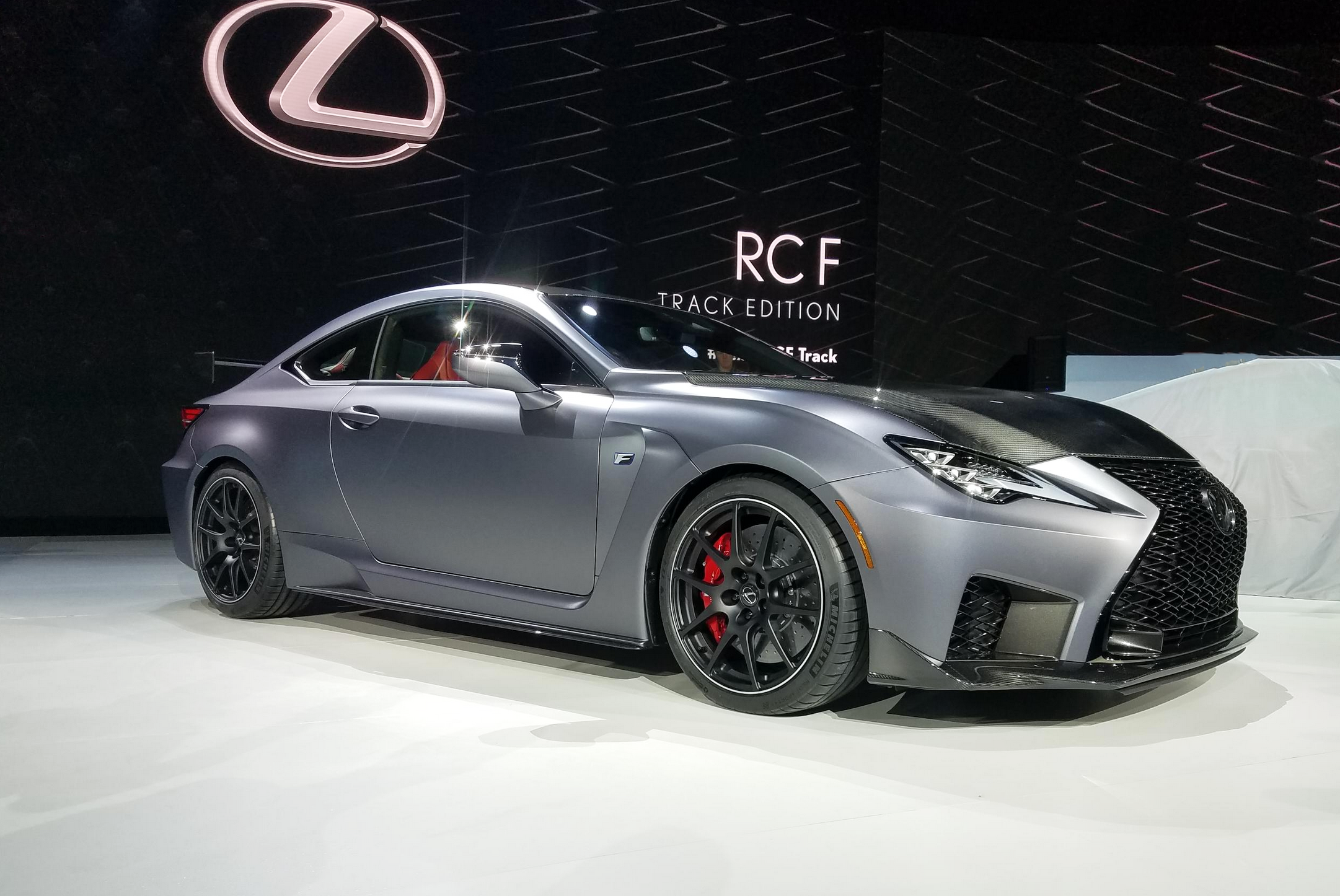 Led Lights For Cars >> 2019 Detroit Auto Show: 2020 Lexus RC F and RC F Track ...