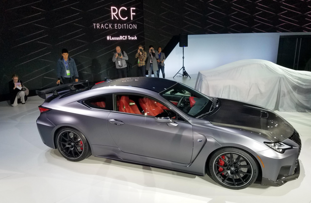 2019 Detroit Auto Show 2020 Lexus Rc F And Rc F Track Edition The