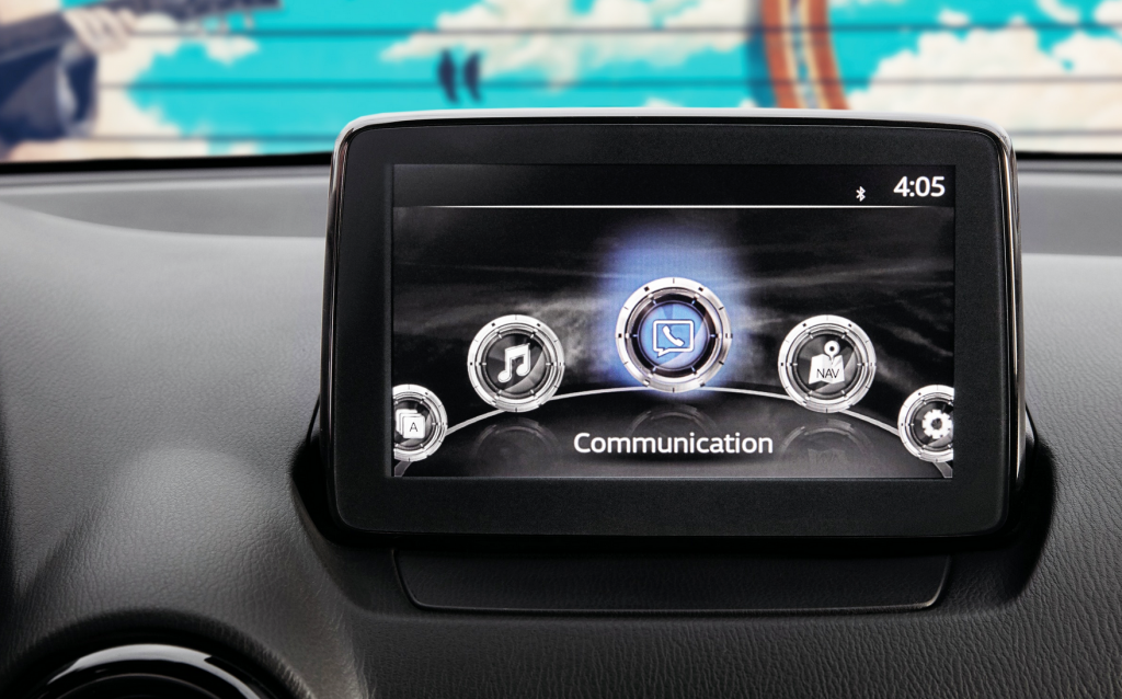 Yaris Infotainment Screen